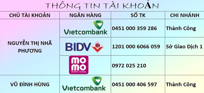 tài khoản thanh toán toptaobao.net