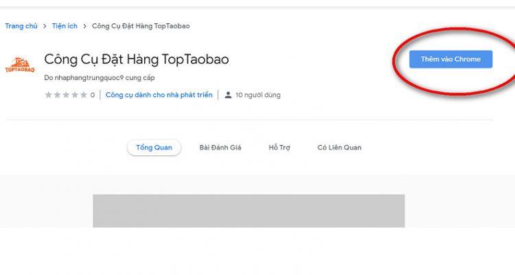 cài công cụ đặt hàng toptaobao