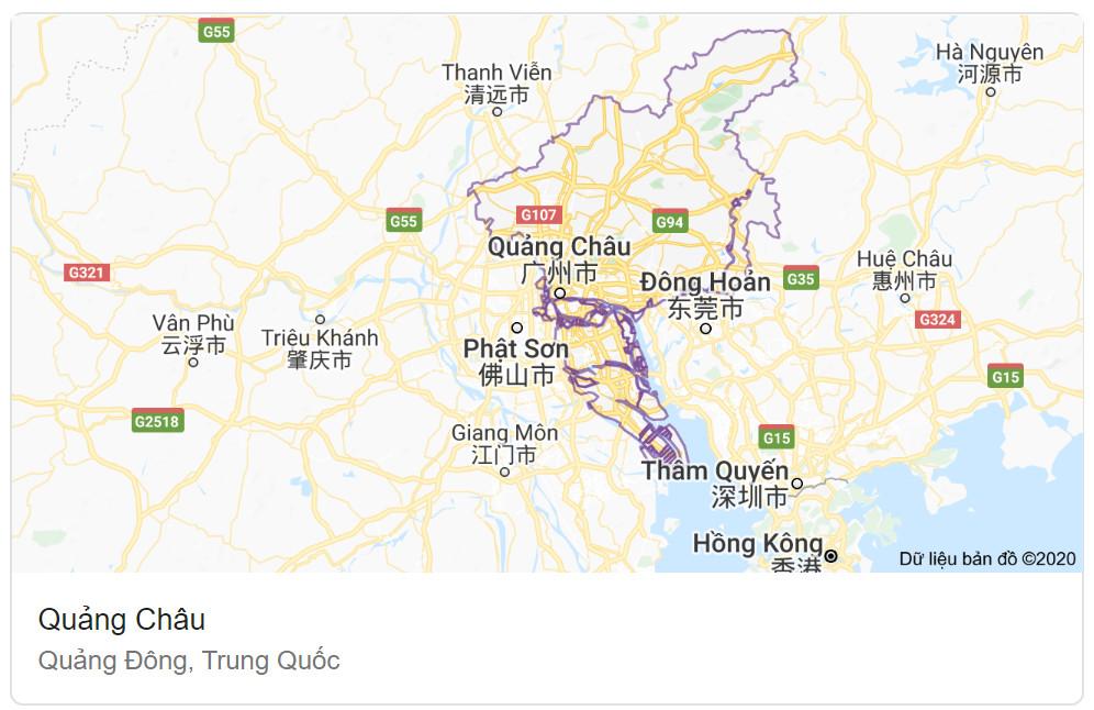 Quảng Châu - Quảng Đông - Trung Quốc - toptaobao